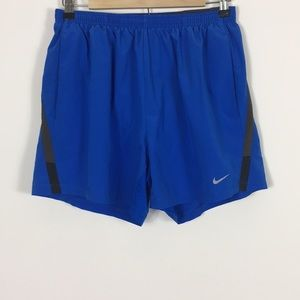 Nike Dri-Fit Blue Running Shorts